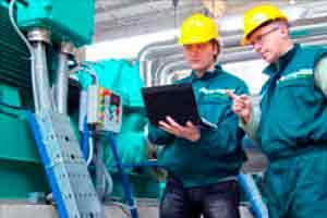Manutenção em geradores elétricos