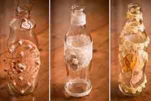 Decoração em vidros