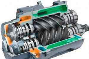 Manutenção em Compressores Parafuso Hitachi