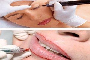Micropigmentação de olhos e boca