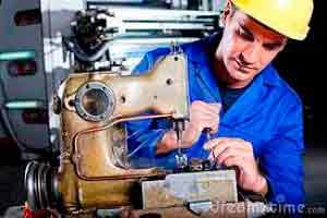 Mecânica de Máquinas de Costura Industrial