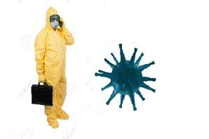 Agente de Saúde em tempo de pandemia contra o corona vírus