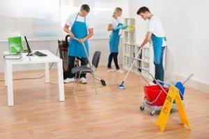Limpeza de Pátio Escolar