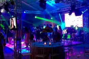 Iluminação de festas