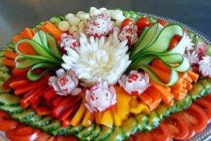 Decoração de Saladas