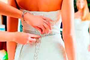 Modelagem e confecção de vestido de noiva