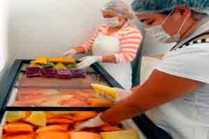 Produção de polpa de frutas