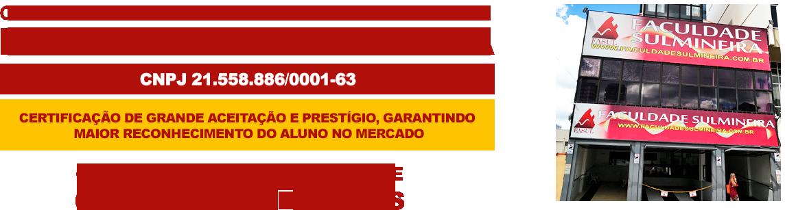 Certificado Faculdade Sul Mineira - Fasul